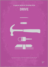 No258 My DRIVE minimal movie poster