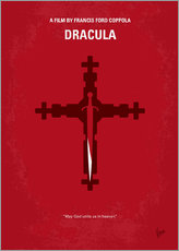 No263 My DRACULA minimal movie poster