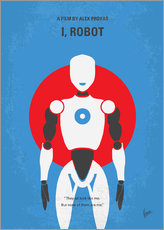 No275 My I ROBOT minimal movie poster