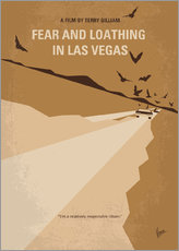No293 My Fear and loathing Las vegas minimal movie poster