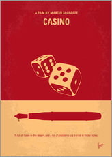 No348 My Casino minimal movie poster
