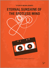 No384 My Eternal Sunshine of the Spotless Mind minimal movie poster