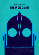 No406 My The Iron Giant minimal movie poster