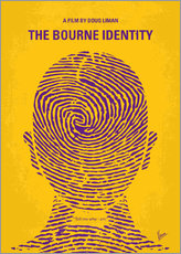 No439 My The bourne identity minimal movie poster