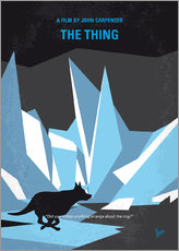 No466 My The Thing minimal movie poster