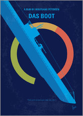 No553 My Das Boot minimal movie poster