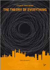 No568 My The theory of everything minimal movie poster