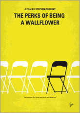 No575 My Perks of Being a Wallflower minimal movie poster
