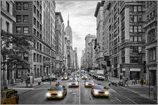 NYC 5th Avenue Traffic