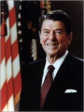 Official Portrait of President Reagan in February 1981