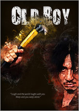 Oldboy - Minimal Movie Movie Fanart Alternative