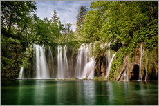 Paradise Waterfall in Plitvice