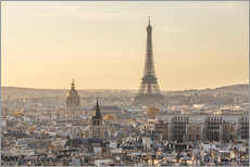 Paris in the evening light