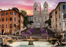 Piazza Di Spagna with the Spanish Steps