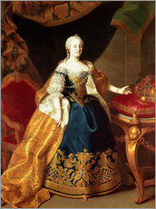 Portrait of the Empress Maria Theresa of Austria