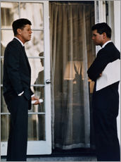 President Kennedy and his brother Robert Kennedy