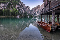 Lago di Braies, Dolomite Alps, South Tyrol