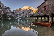 Braies Lake South Tyrol Italy