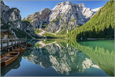 Braies Lake, South Tyrol, Italy