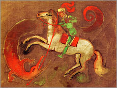 Knight George and dragon