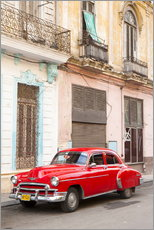 Restored American car, Havana
