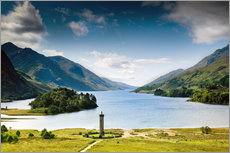 Scotland - Glenfinnan at Loch Shiel