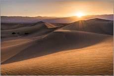 Sunset at the Dunes in Death Valley