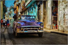 Taxi in close alley