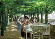 The Terrace at Jacob's Restaurant in Nienstedten-an-der-Elbe