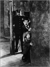 Tom Wilson, Charles Chaplin and Jackie Coogan in The Kid