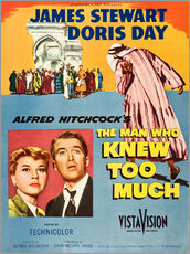 THE MAN WHO KNEW TOO MUCH, Doris Day, James Stewart