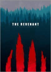 The Revenant - Minimal Film Fanart alternative