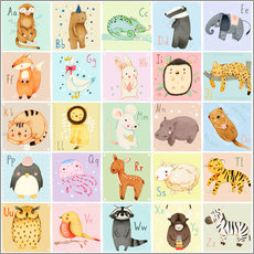 Animal Alphabet German