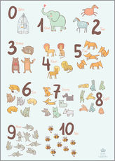 Animal numbers for the nursery