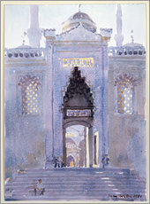Gateway to The Blue Mosque