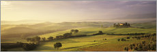 Orcia Valley at sunrise