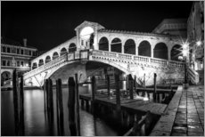 VENICE Rialto Bbridge at Night