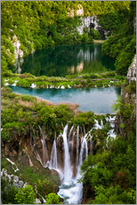 Waterfall Paradise Plitvice Lakes