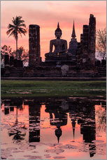 Wat Mahathat in evening light