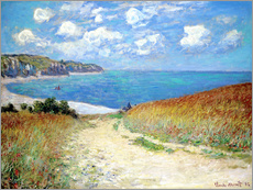 Path in the Wheat at Pourville