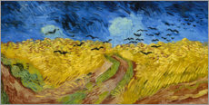 Corn-field with Crows