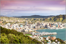 Wellington in the morning, New Zealand