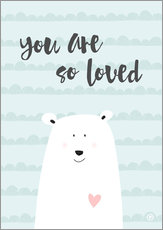 you are so loved - mint
