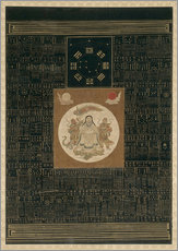 Zhenwu with the Eight Trigrams, the Northern Dipper, and Talismans, Qing dynasty