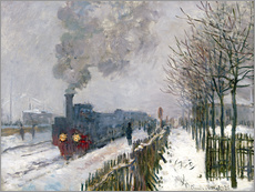 Train in the Snow (The Locomotive)