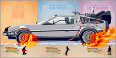 Back to the Future - DeLorean trilogy Alternative Fanart