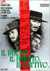 THE GOOD, THE BAD AND THE UGLY, (IL BUONO, IL BRUTTO, IL CATTIVO), Clint Eastwood, Lee Van cleef, El