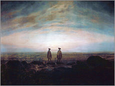 Two men at the sea