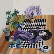 Checkers and plants