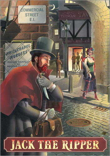 Peter Green's Pub Signs Collection - 27105 Jack the Ripper